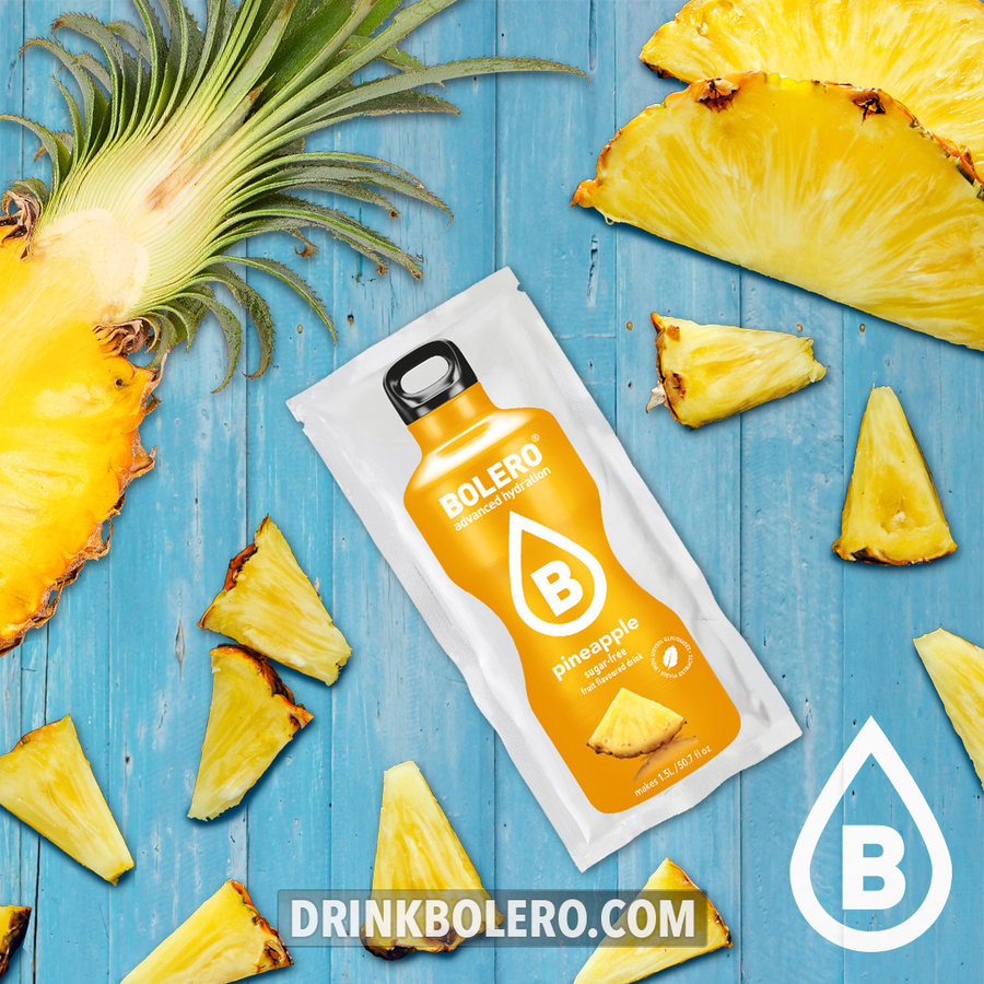 Ananas met Stevia | 24 stuks