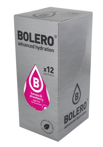 Bolero Banane & Erdbeere | 12-er Packung (12 x 9g)