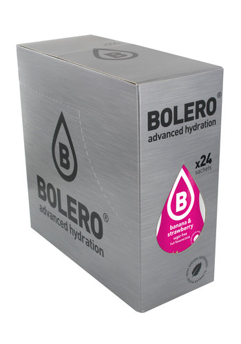 Bolero Banana & Strawberry 24 sachets (24 x 9g)