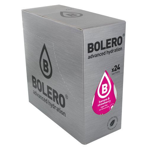Bolero Banaan & Aardbei met Stevia | 24 stuks (24 x 9g)