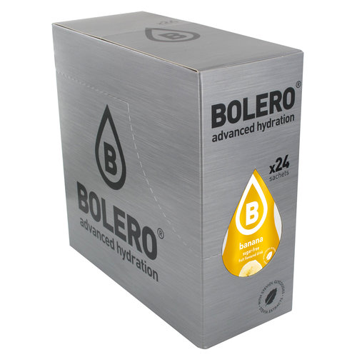 Bolero Platano con Stevia | 24 sobres