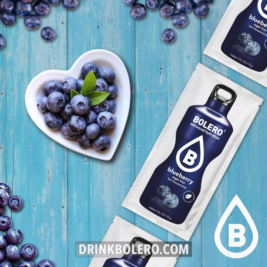 Blueberry 24 sachets with Stevia