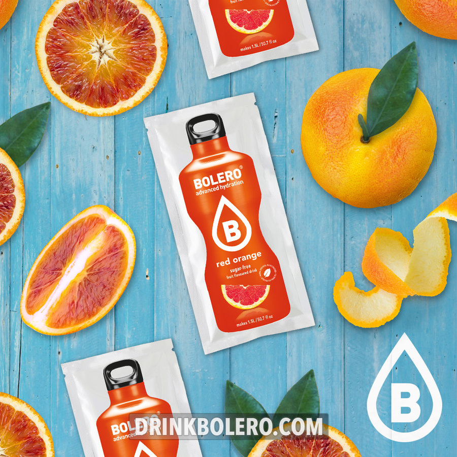 Red Orange with Stevia