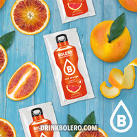 Red Orange 12 sachets with Stevia