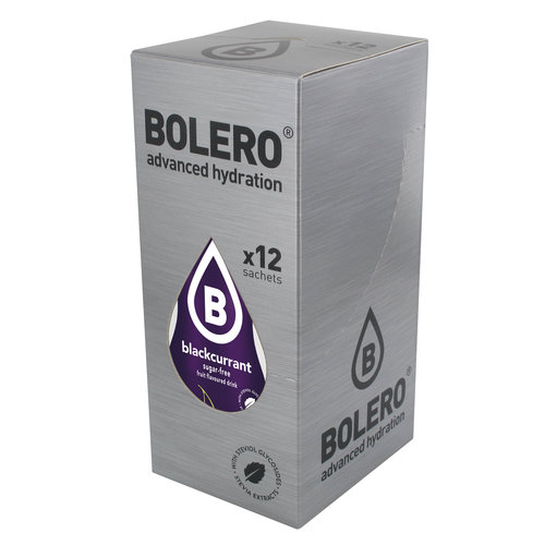 Bolero Blackcurrrant 12 sachets with Stevia