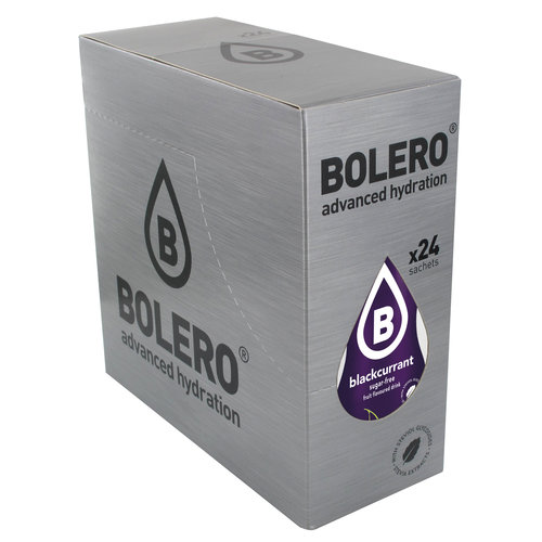 Bolero Blackcurrrant 24 sachets with Stevia