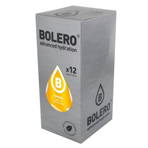 Bolero Citroen met Stevia | 12 stuks