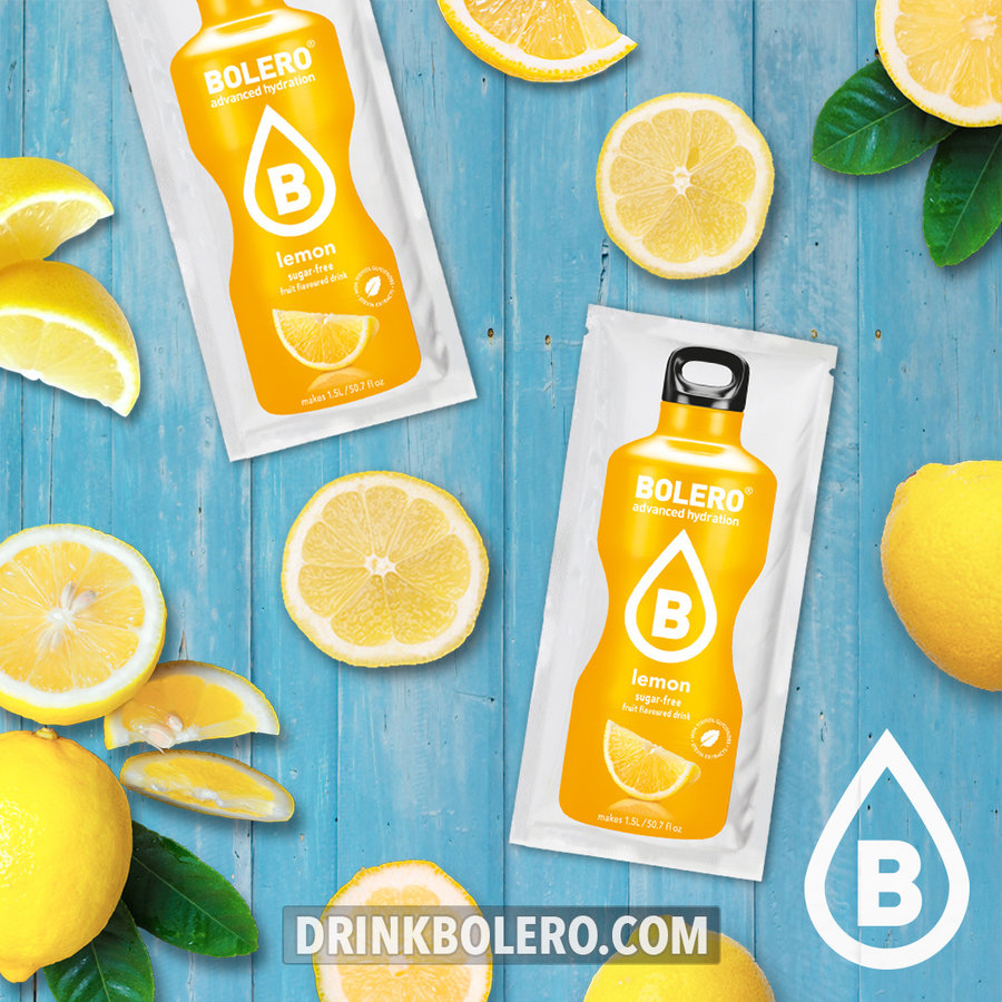 Limón con Stevia | 24 sobres