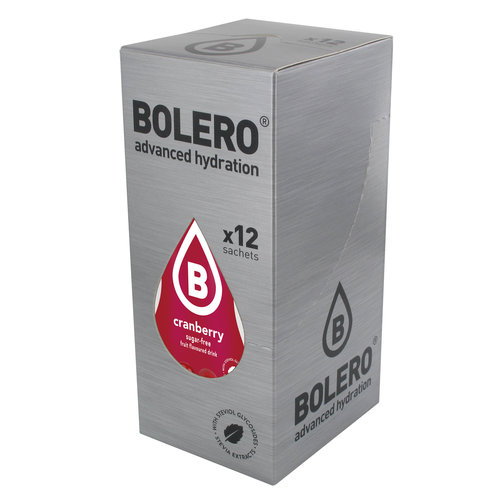 Bolero Cranberry 12 sachets with Stevia