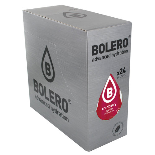 Bolero Cranberry | 24 stuks (24 x 9g)