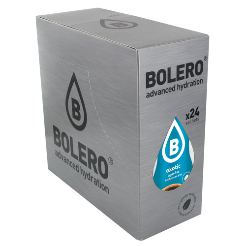Bolero Exotic 24 sachets with Stevia