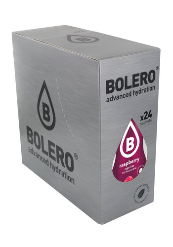Bolero Raspberry 24 sachets with Stevia