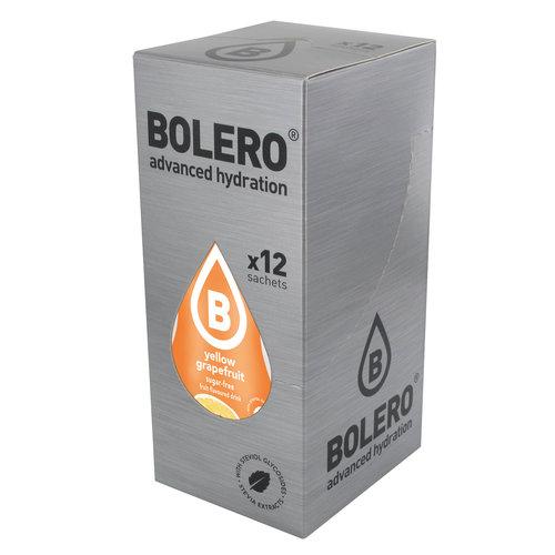 Bolero Yellow Grapefruit 12 sachets with Stevia