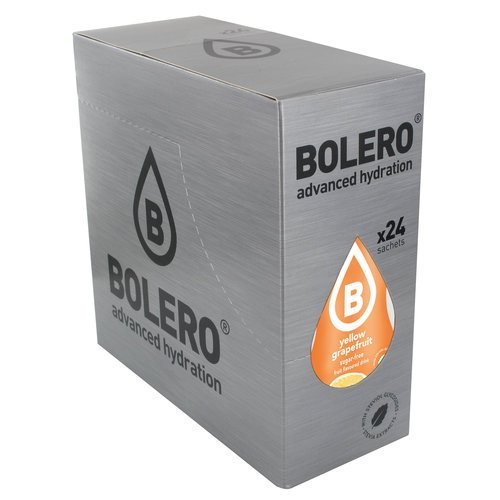 Bolero Gele Grapefruit met Stevia   24 stuks