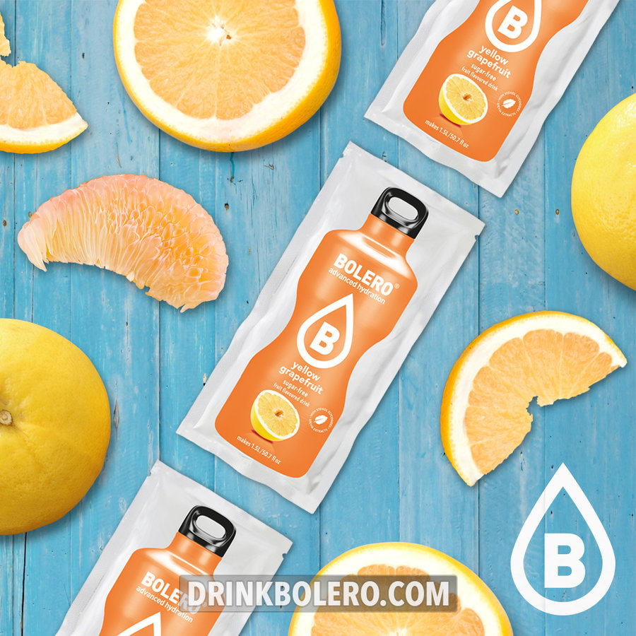 Gelbe Grapefruit   24-er Packung (24 x 9g)