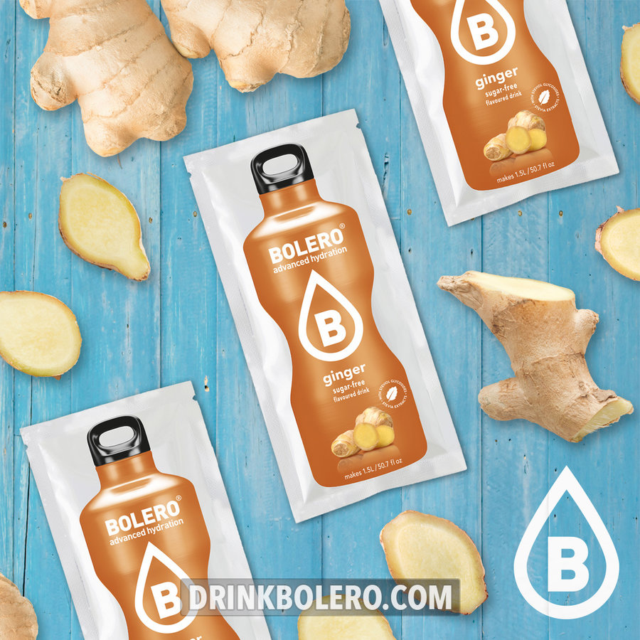 Ginger with Stevia