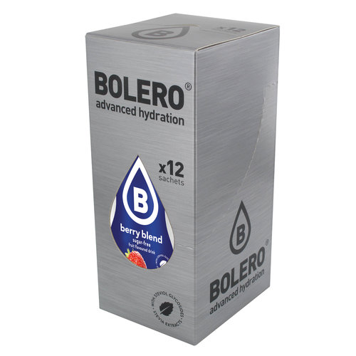Bolero Berry Blend 12 sachets with Stevia