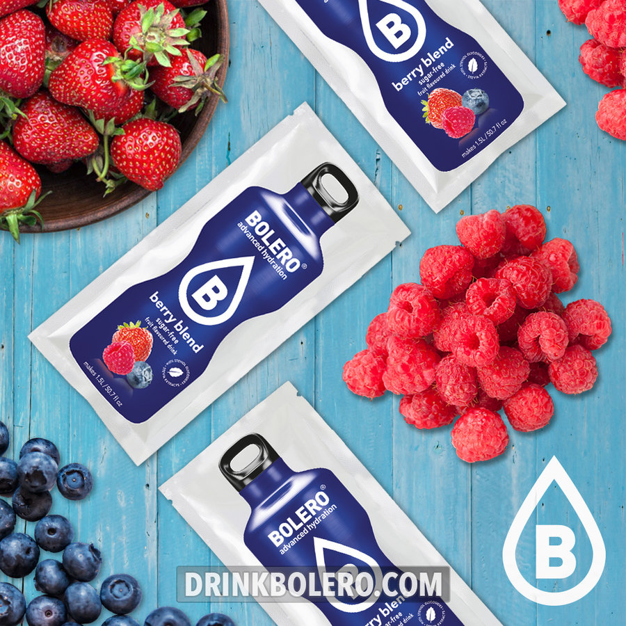 Berry Blend 24 sachets with Stevia