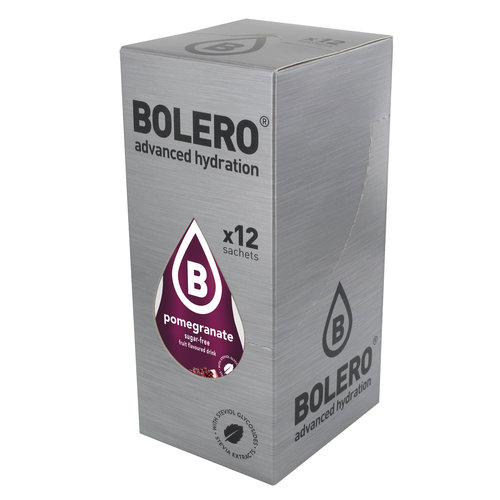 Bolero Granaatapppel met Stevia | 12 stuks