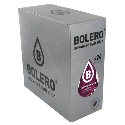 Bolero Granaatapppel met Stevia | 24 stuks