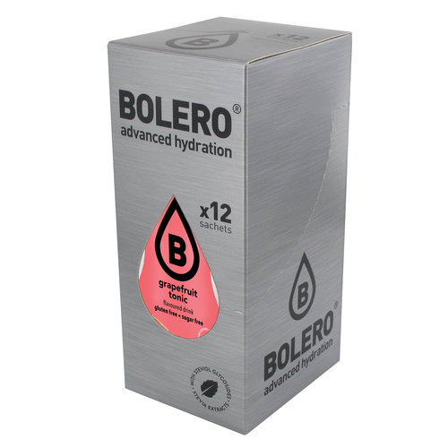 Bolero Grapefruit Tonic | 12-er Packung (12 x 9g)
