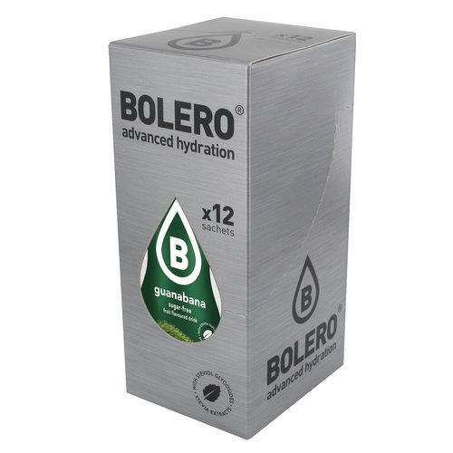 Bolero Guanabana 12 sachets with Stevia