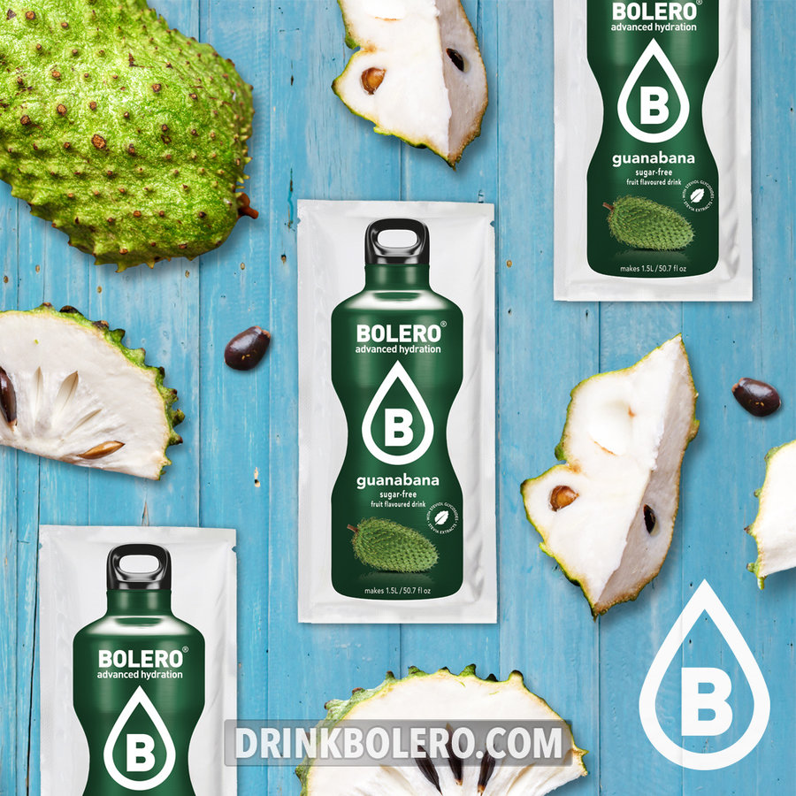 Guanabana con Stevia   24 sobres