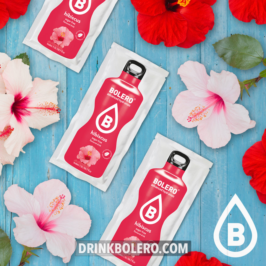 Hibiscus 24 sachets with Stevia