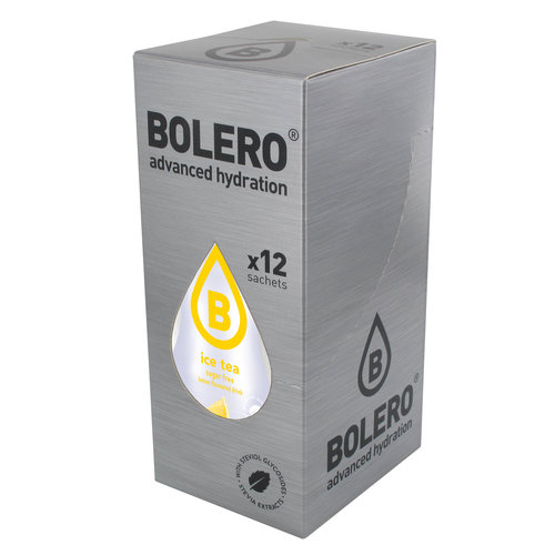 Bolero ICE TEA Citroen | 12 stuks (12 x 8g)