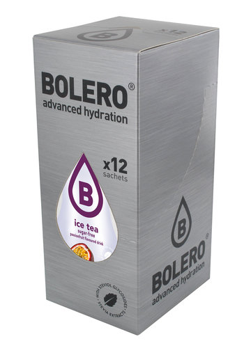 Bolero ICE TEA PASSIONFRUCHT | 12-er Packung (12 x 8g)