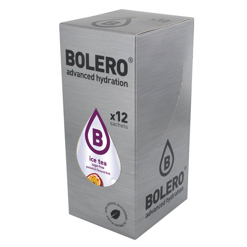 Bolero ICE TEA Passion Fruit 12 sachets with Stevia