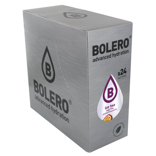 Bolero ICE TEA Passion Fruit 24 sachets with Stevia