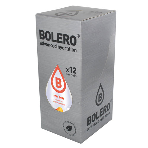 Bolero ICE TEA Peach 12 sachets with Stevia