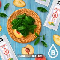 ICE TEA Peach 12 sachets with Stevia