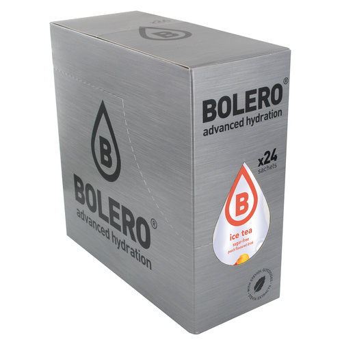 Bolero ICE TEA PECHE | 24 Sachet (24 x 8g)