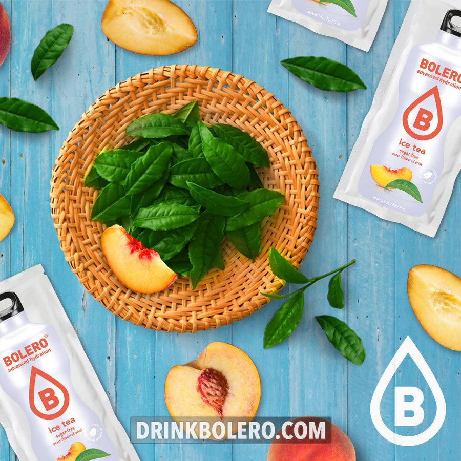 ICE TEA Peach 24 sachets with Stevia