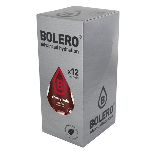 Bolero Cherry Kola 12 sachets with Stevia