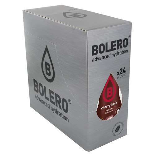 Bolero Cherry Kola 24 sachets with Stevia