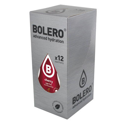 Bolero Cherry 12 sachets with Stevia