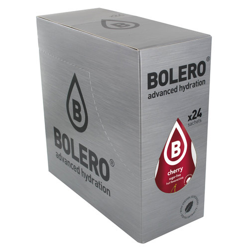 Bolero Cherry 24 sachets with Stevia