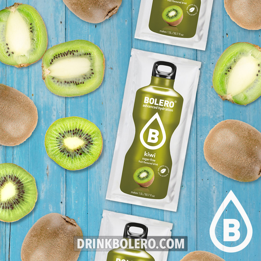 Kiwi con Stevia | 24 sobres