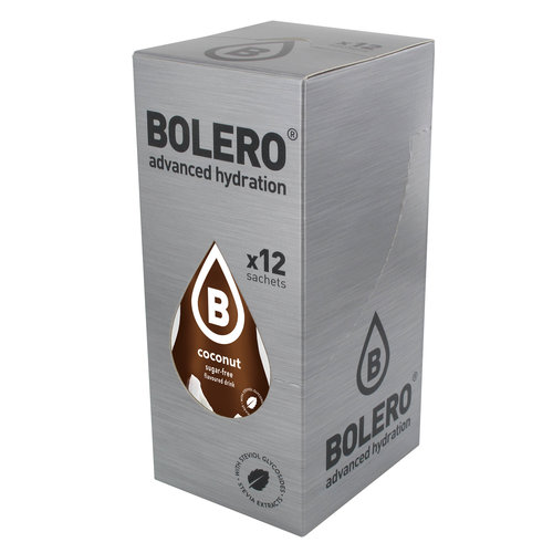 Bolero Coconut 12 sachets with Stevia