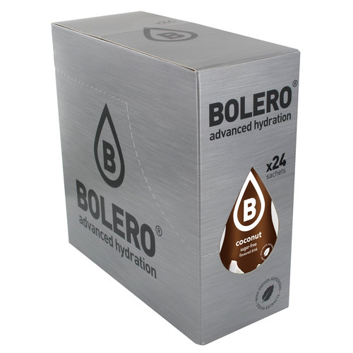 Bolero Coconut 24 sachets with Stevia