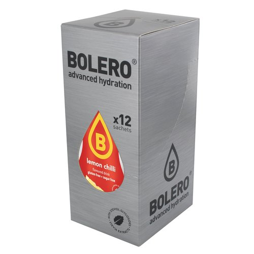 Bolero Lemon Chilli | 12-er Packung (12 x 9g)