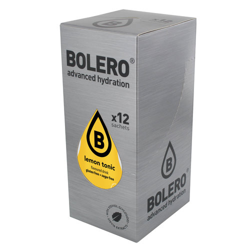 Bolero Lemon Tonic | 12-er Packung (12 x 9g)