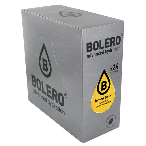 Bolero Lemon Tonic | 24 Sachet (24 x 9g)