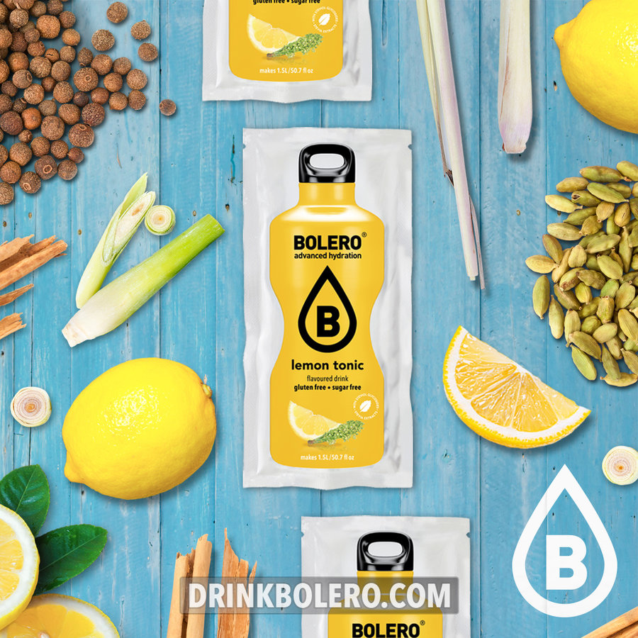 Lemon Tonic | 24 stuks (24 x 9g)