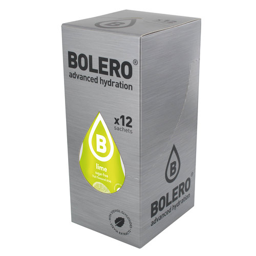 Bolero Lime   12 Sachet (12 x 9g)