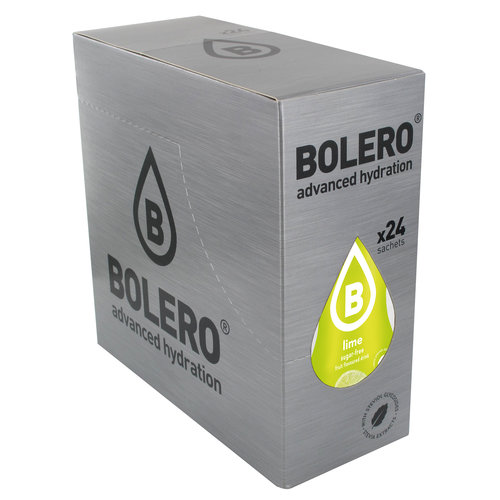Bolero Lime 24 sachets with Stevia