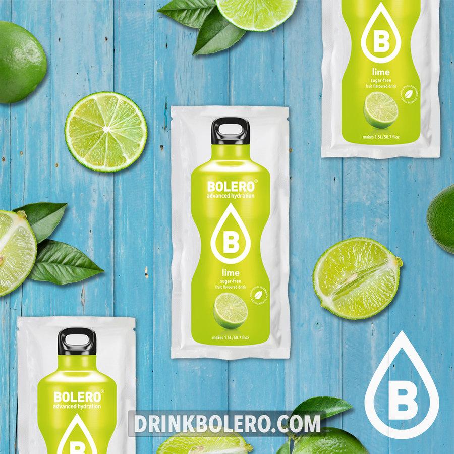 Lime 24 sachets with Stevia